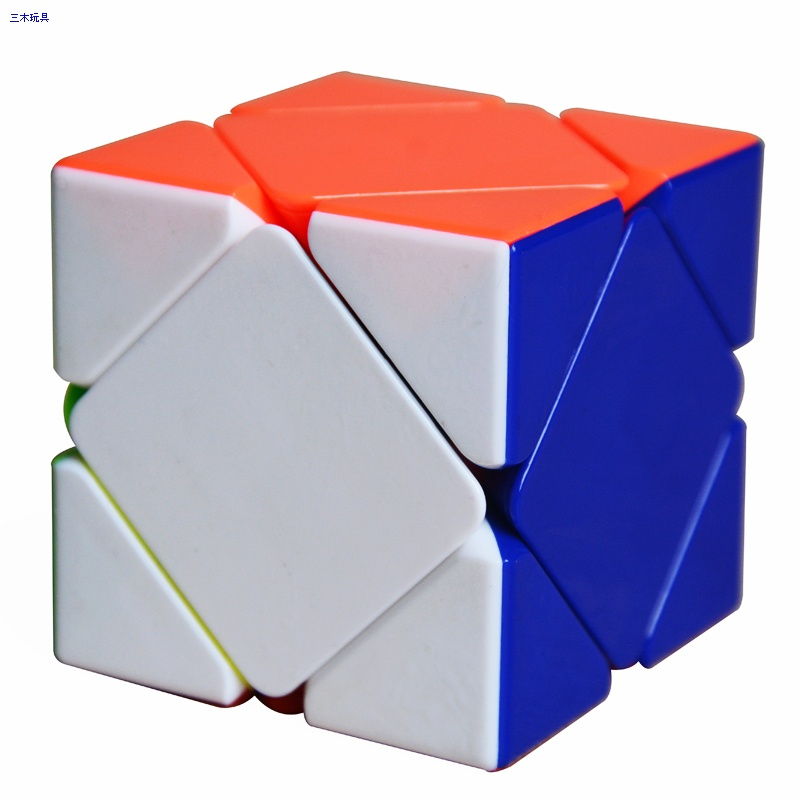 Cube Style Skewb cube stickerless