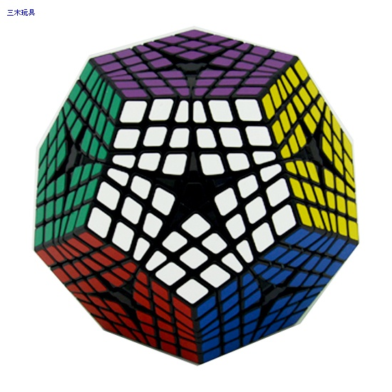 Shengshou Elite Kilominx cube black
