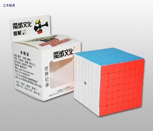 7х7х7 MoYu AOFU GT цветной пластик