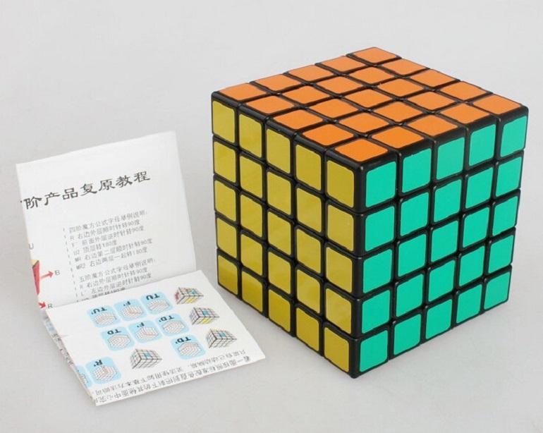 кубик 5х5х5 ShengShou черный