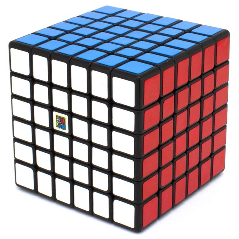 6x6x6 MoYu MOFANGJIAOSHI MF6 black