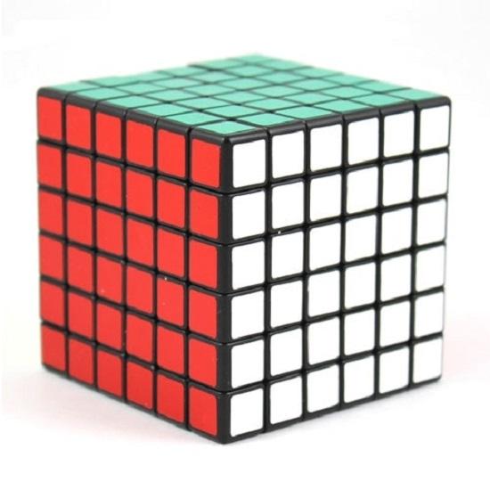 кубик 6х6х6 ShengShou черный пластик