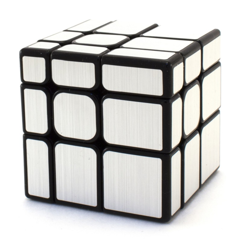Yuxin Mirror Blocks Ice Qilin 3x3  серебро