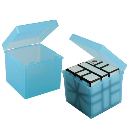 Бокс для кубика 3х3 голубой
