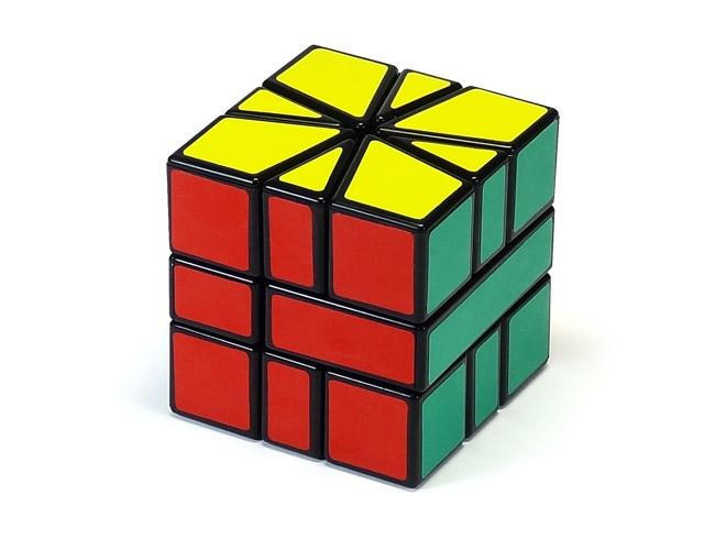 Square-1 CubeTwist black