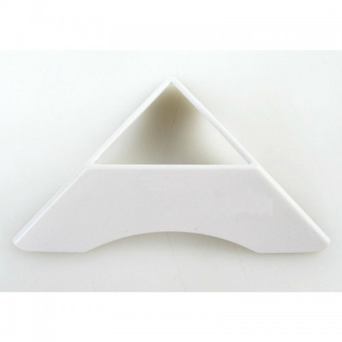 Подставка для кубика белая