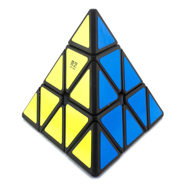 Пирамидка MoFangGe QiMing A Pyraminx черный пластик