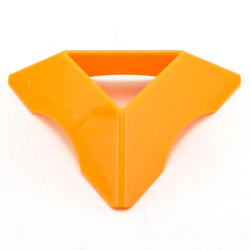 Подставка для кубика оранжевая