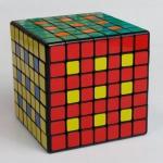 кубик 7х7х7 ShengShou черный пластик