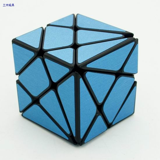 Cube Style Axis black body with blue carbon