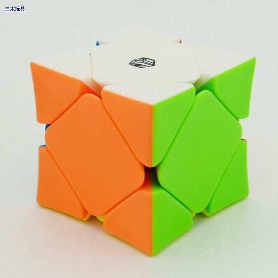 Skewb X-Man Wingy Magnetic (Concave, stickerless)