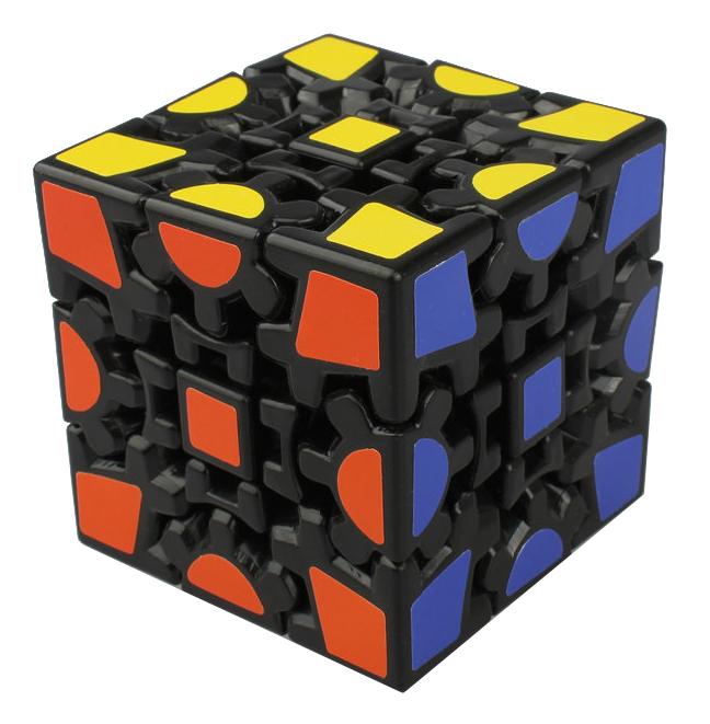 Шестереночный куб Gear Cube black