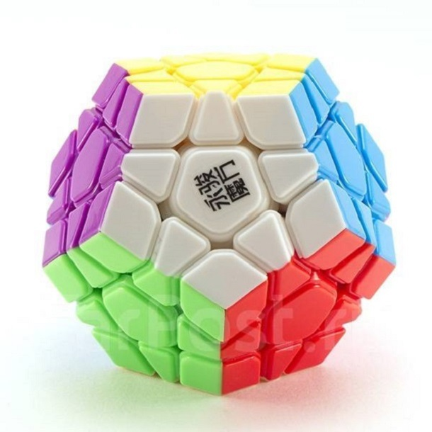 MOYU YUHU Megaminx цветной пластик