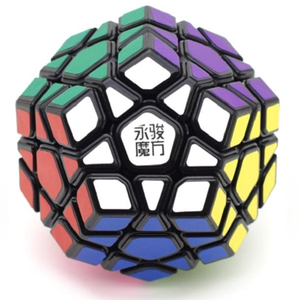 MOYU YUHU R Megaminx черный пластик