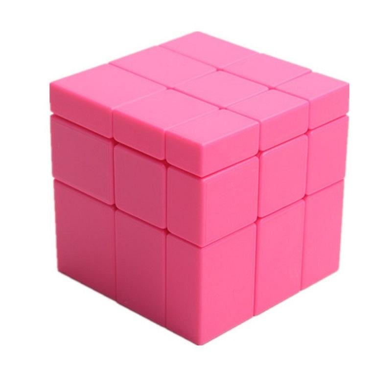 Yuxin Mirror Blocks Ice Qilin 3x3  розовый