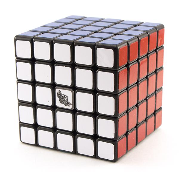 Скоростной кубик 5x5x5 Cyclone Boys G5 черный пластик
