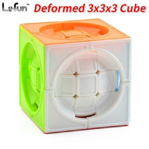 LeFun DeFormed Cube брелок