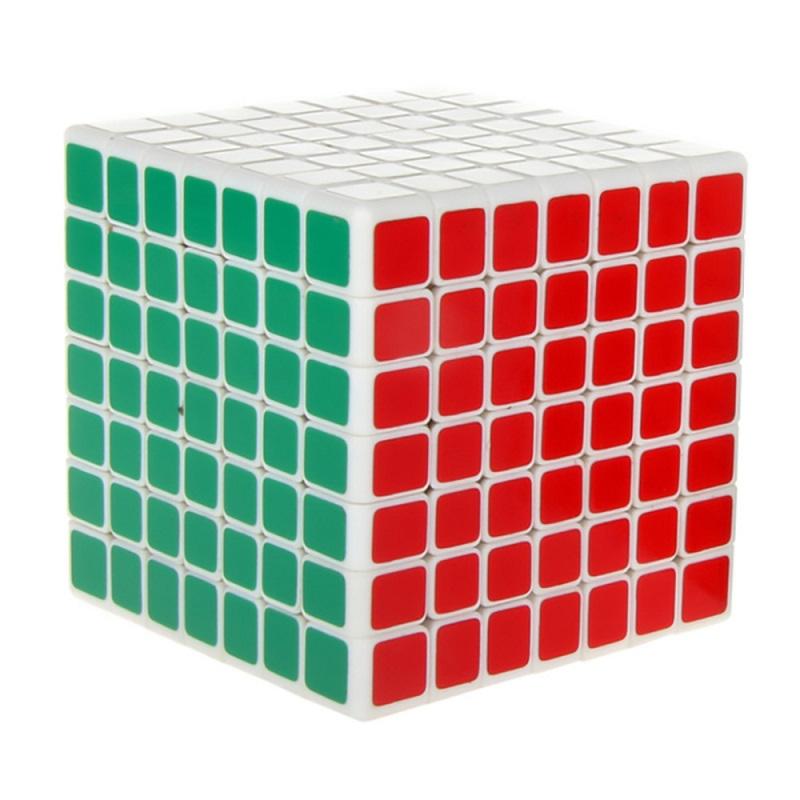 кубик 7х7х7 ShengShou белый пластик