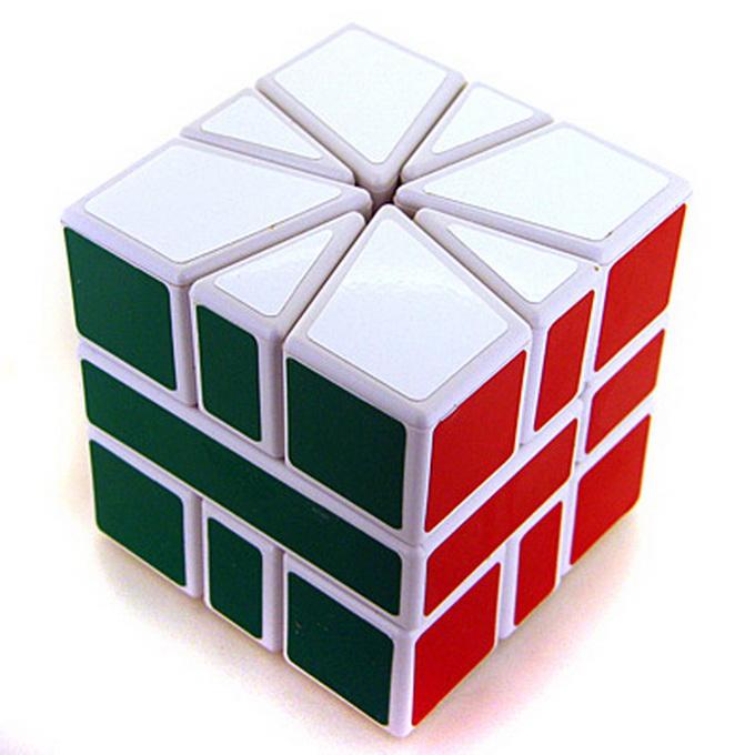 Square-1 CubeTwist white