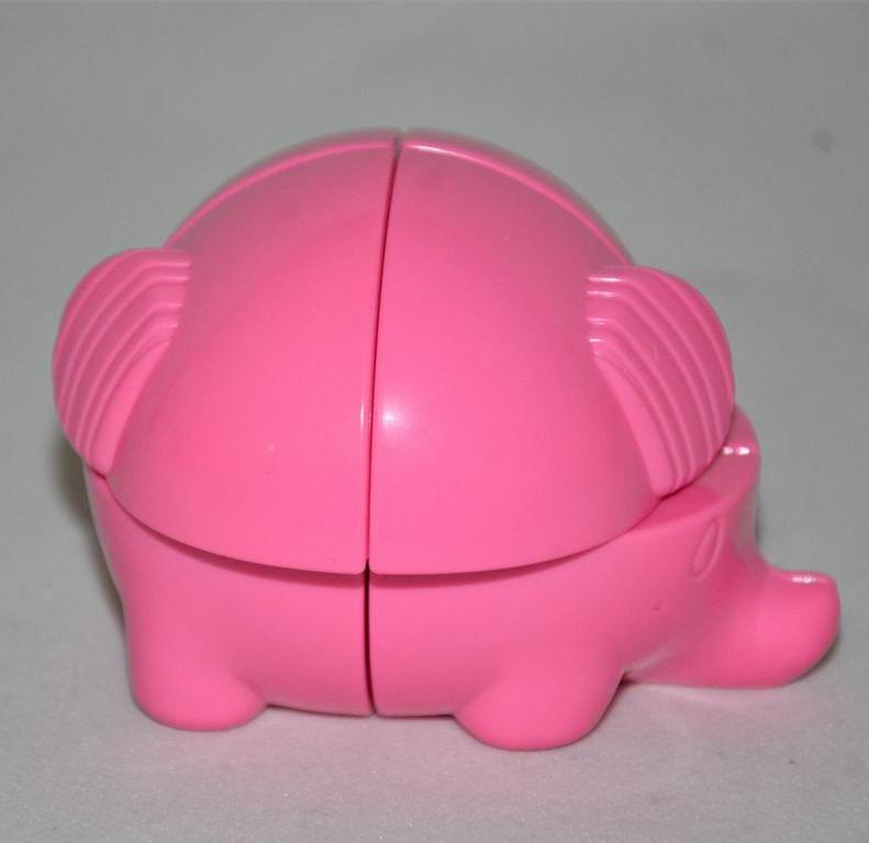 YJ elephant 2x2 розовый