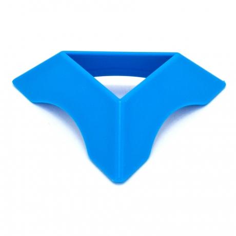 Подставка для кубика голубая