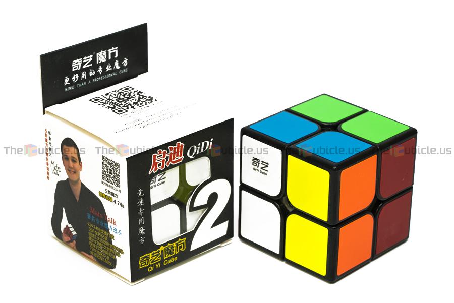 Скоростной кубик MoFangGe 2x2 QiDi черный