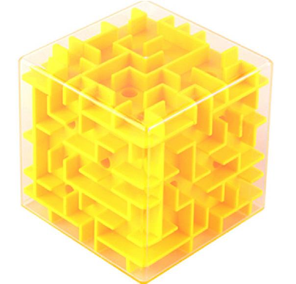 Лабиринт желтый