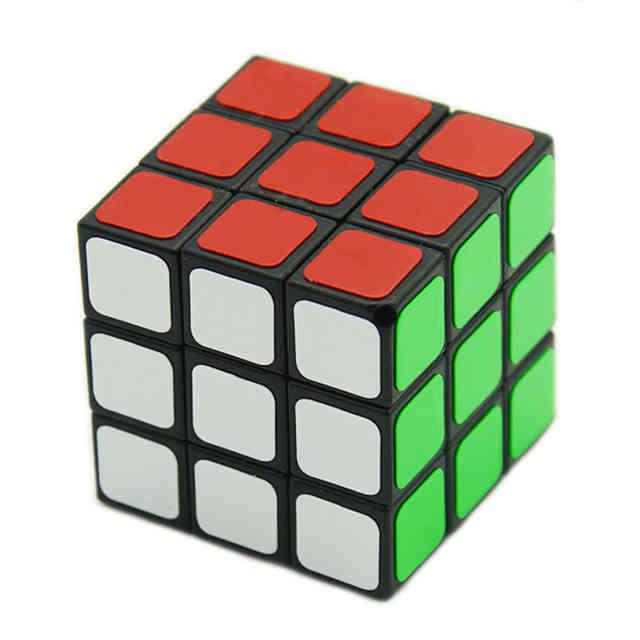 3x3x3 Cube Style 3cm black