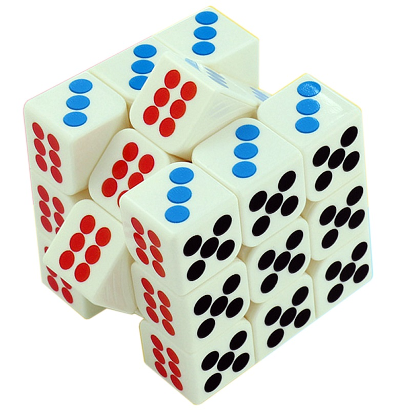 3х3 MOYU Cubing Classroom Dice Cube домино