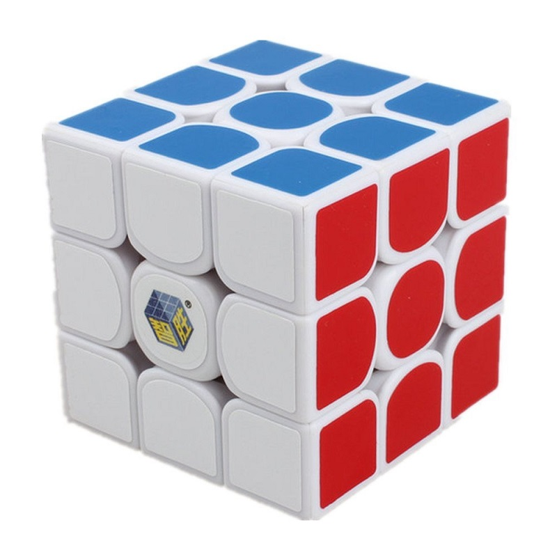 Скоростной кубик 3х3х3 Zhisheng Qilin Fire белый