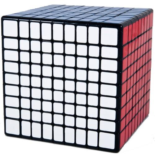 кубик 9х9 от Shengshou черный пластик