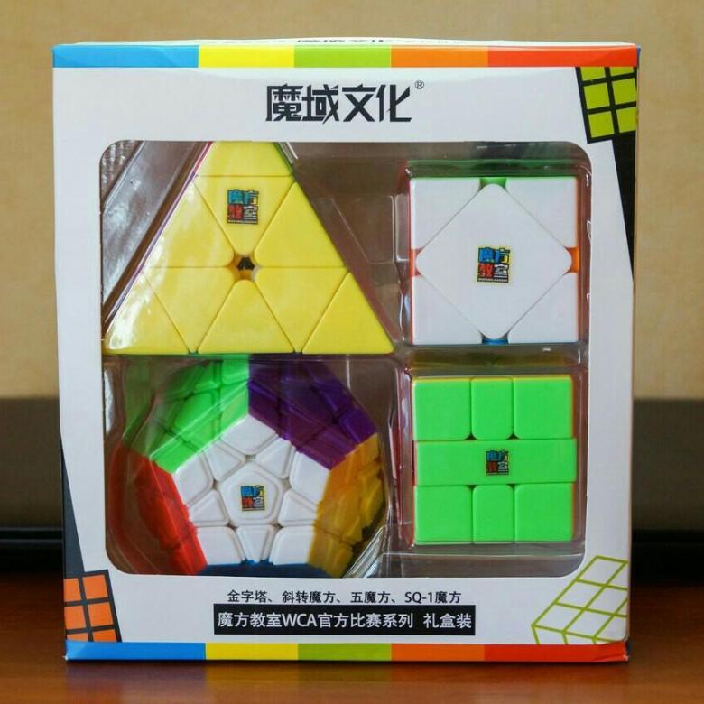 Moyu Cubing Classroom WCA Set
