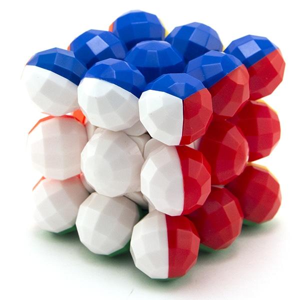3x3x3 YJ Round Ball Cube Stickerless